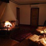 fireplace first floor